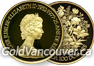 Canadian $100 gold coin from 1977 to 1986
