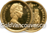 Canadian $20 1967 gold coin