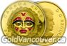 Canadian $300 gold coin