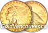United States $2.50 Indian Quarter Eagle Gold Coin